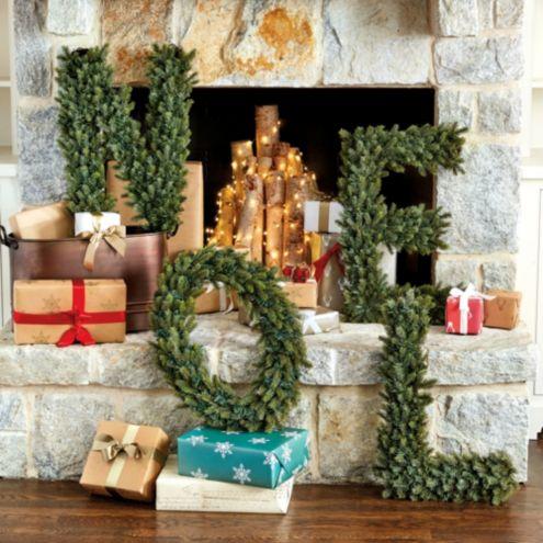 Noel Spruce Wreath