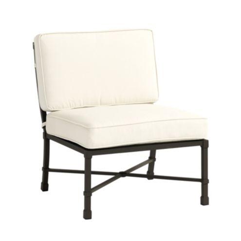 Suzanne Kasler Directoire Armless Lounge Chair