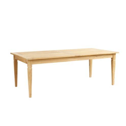 Classic Teak Rectangular Dining Table