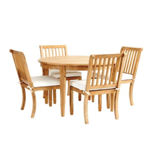 Madison 5-Piece Round Dining Set