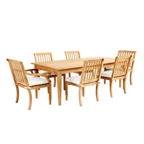 Madison 7-Piece Rectangular Dining Set