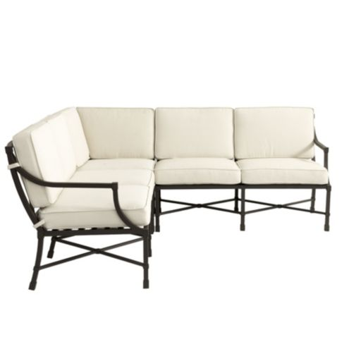 Suzanne Kasler Directoire 3-piece Sectional