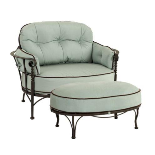 Corsica Lounge Chair & Ottoman