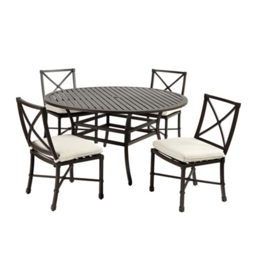 Suzanne Kasler Directoire 5-Piece Round Dining Set with