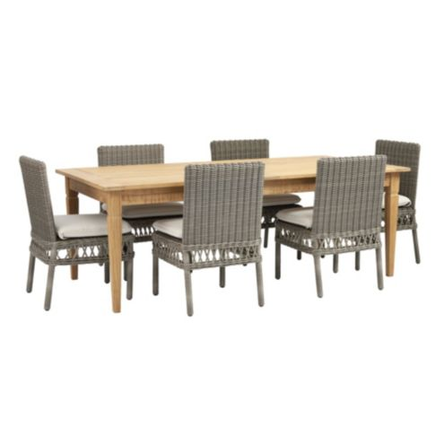 Laurel 7-Piece Rectangular Dining Set
