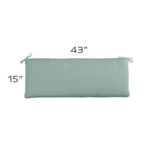 Outdoor Bench Cushion - 43 x 15