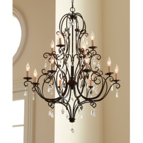 Waldorf 12 Light Chandelier | Lighting