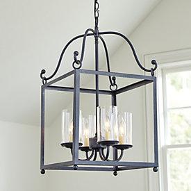 hadley 4 light pendant chandelier ballard designs features ballard designs