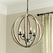 Hanging Sphere Chandelier