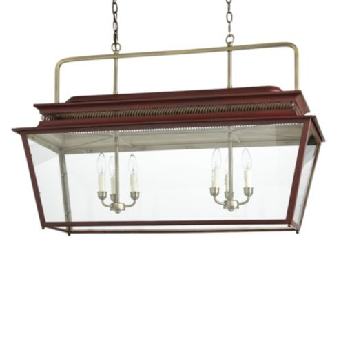 Piedmont 6-Light Rectangular Lantern