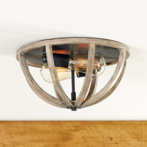 Hudson 2-Light Ceiling Mount