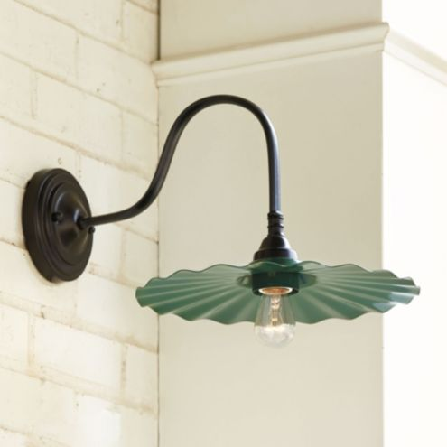 Logan Goose Neck Outdoor Wall Sconce