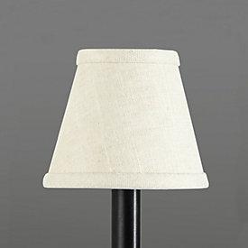 tapered linen drum chandelier shade ballard designs. Black Bedroom Furniture Sets. Home Design Ideas