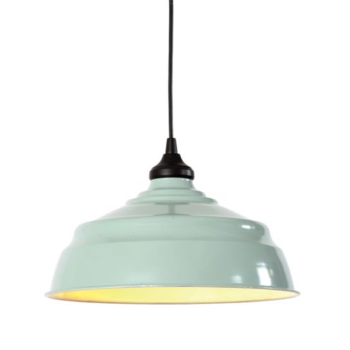 Large Industrial Metal Shade with Adapter for Recessed