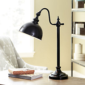 bradley task floor lamp ballard designs. Black Bedroom Furniture Sets. Home Design Ideas