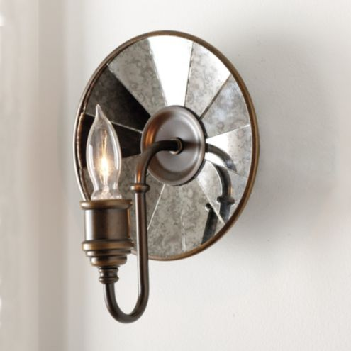 Dumont Mirrored Wall Sconce