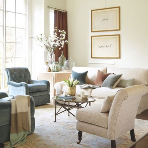 Living room furniture living room decor ballard designs for Ballard designs dining room