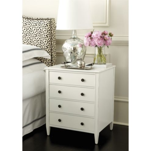 Sidney 4 Drawer Side Table