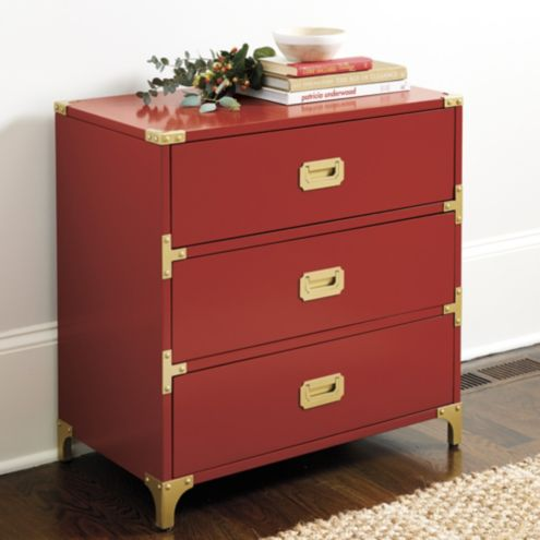 Charlotte 3 | Drawer Campaign Chest