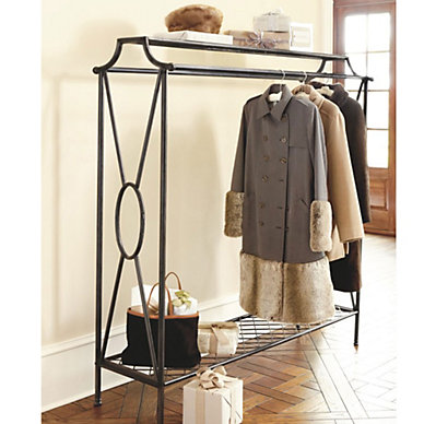 racks small storage - Entryway Decor