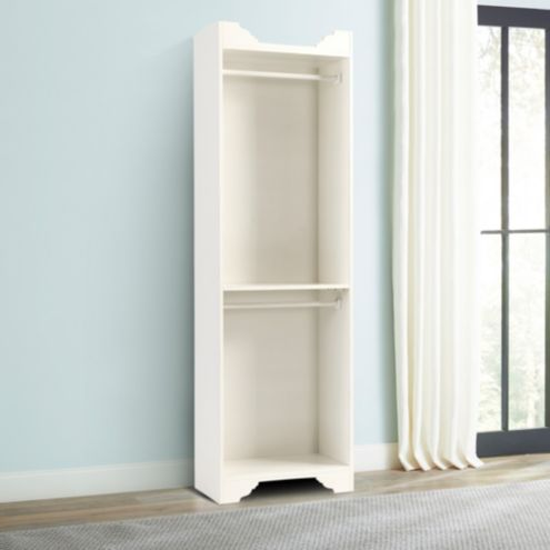 Sarah Storage Tower - Double Hanging Rod