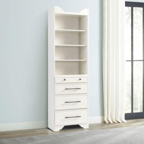 Sarah Storage Tower - Drawers & Shelves
