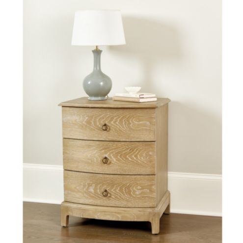 Ezra 3-Drawer Side Table