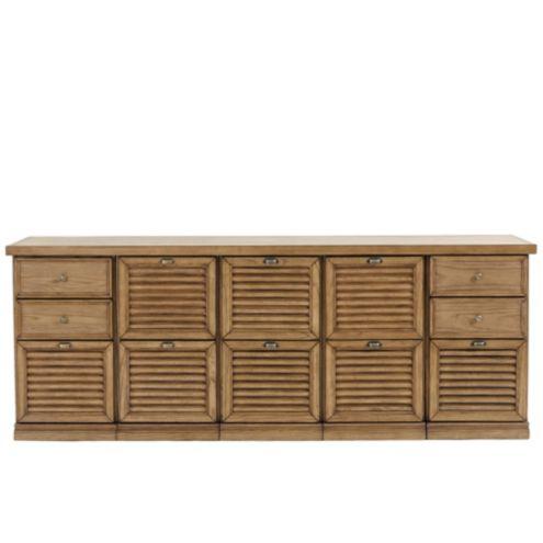 Sommerville 5-Cabinet Credenza