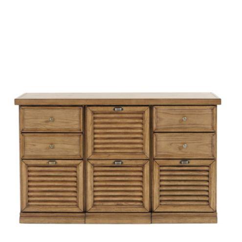 Sommerville 3-Cabinet Credenza