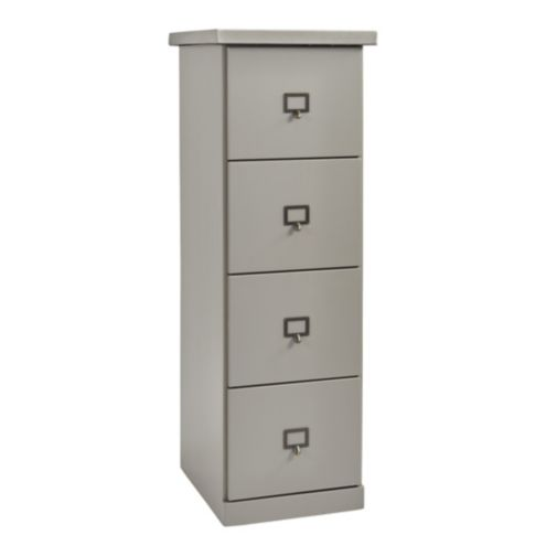 Original Home Office&#8482 Tall File Credenza 4 Drawer