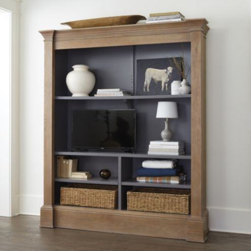 Martine Media Bookcase