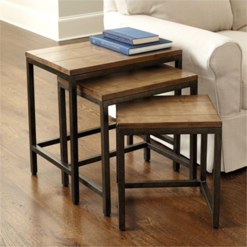 Durham Nesting Tables - Set of 3