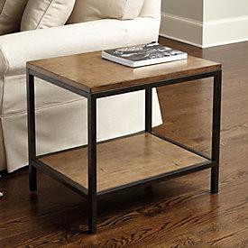 durham rectangular coffee table | ballard designs