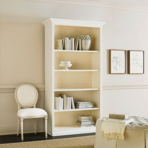Tuscan Large Center Bookcase