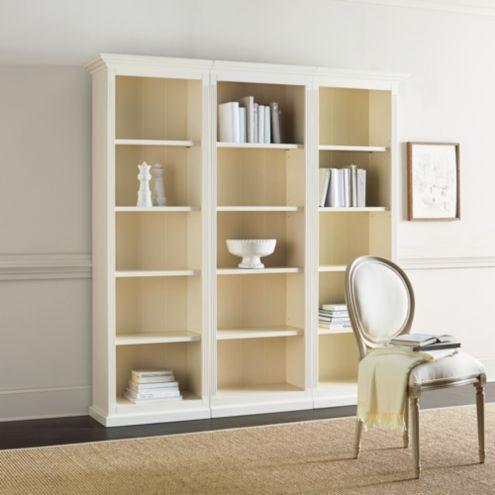 Tuscan Flush Bookcase Set - 3 Piece