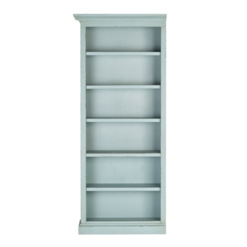 Casa Florentina Josephina Bookcase with Shelves - Left