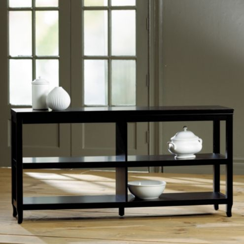 Morgan Double Wide Low Shelf