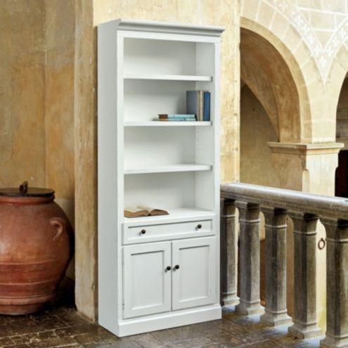 Casa Florentina Josephina Bookcase with Door - Flush