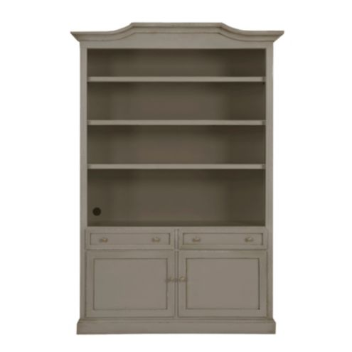 Casa Florentina Josephina Bonnet Top Bookcase with Door