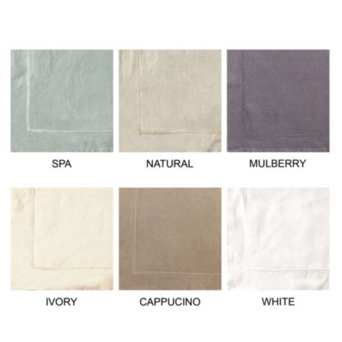 Casa Florentina Washed Linen Swatches