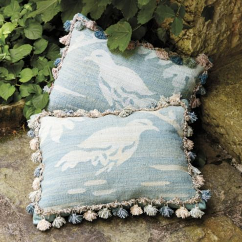 Casa Florentina Herring Handwoven Pillow