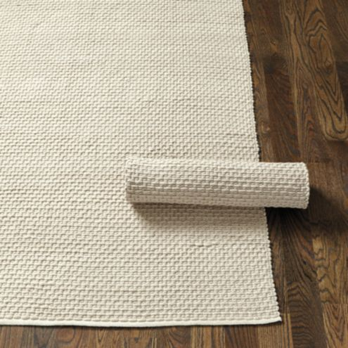 Suzanne Kasler Chunky Wool Rug Swatch - Putty