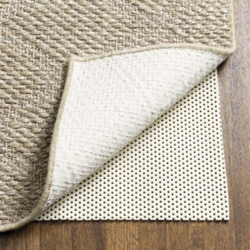 Cushioned Rug Pad for Hard Floors