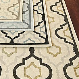 Brookstone Indoor/Outdoor Rug | Ballard Designs