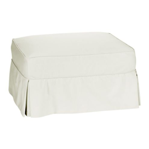 Baldwin/Vintage Vogue Club Ottoman Slipcover | Special Order
