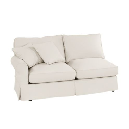 Baldwin Left Arm Loveseat Slipcover - Special Order