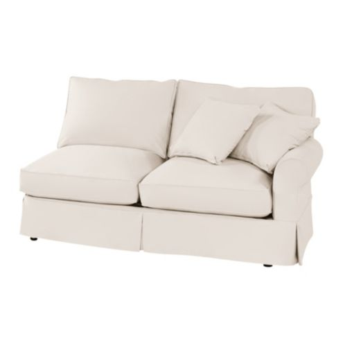 Baldwin Right Arm Loveseat Slipcover | Special Order