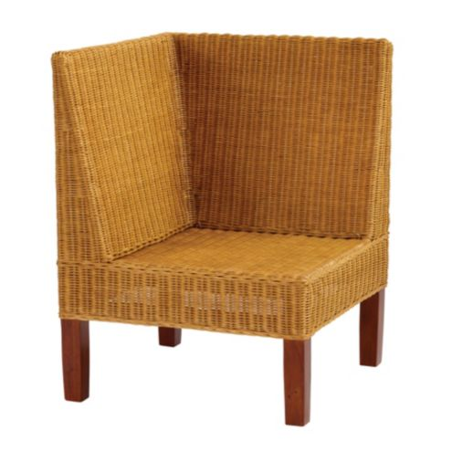Rosalind Wicker Corner Bench