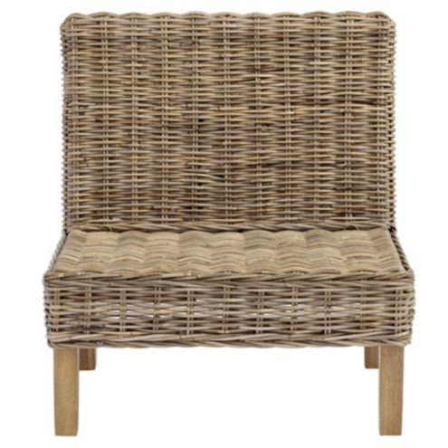 Rosalind Wicker Bench 30'