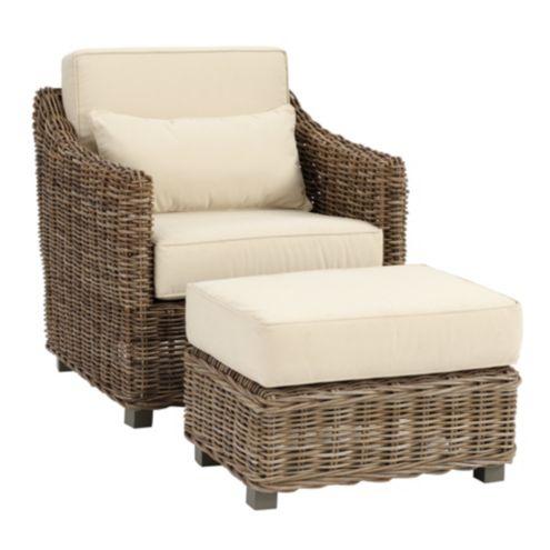 Capri Chair & Ottoman
